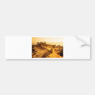 Broken Hill Sunset at Torey Pines Bumper Sticker