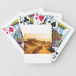 Broken Hill Sunset at Torey Pines Poker Deck