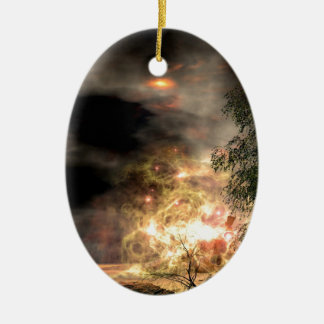 broken hope ceramic ornament