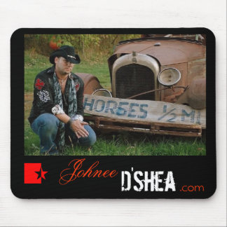 Broken Horses Mouse Pad