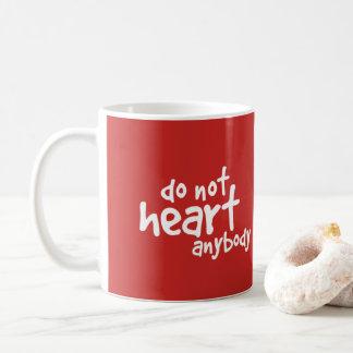 Broken Hurt Valentine Mug