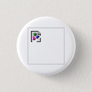 Broken Image JPG JPEG GIF PNG Pinback Button
