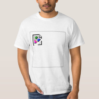 Broken Image JPG JPEG GIF PNG T-Shirt