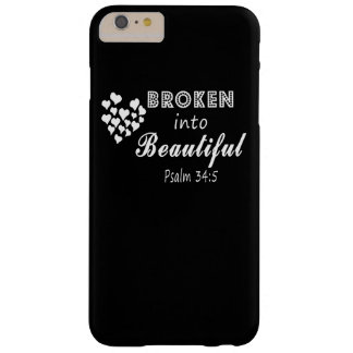 Broken into Beautiful Barely There iPhone 6 Plus Case