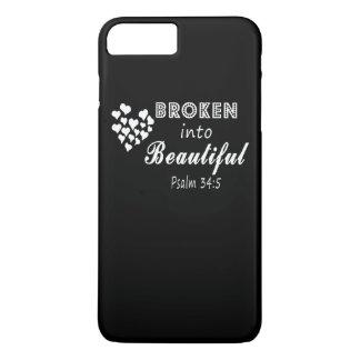 Broken into Beautiful iPhone 8 Plus/7 Plus Case