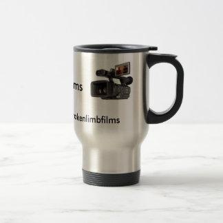 Broken Limb Films Silver Travel Mug
