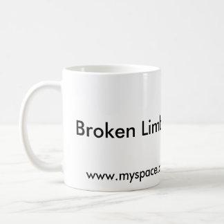 Broken Limb Films White Coffee Mug