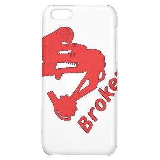 broken-logo cover for iPhone 5C