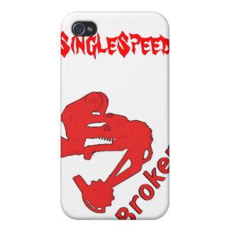 broken-logo, SingleSpeed iPhone 4/4S Cover