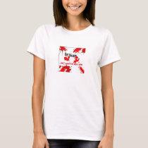 broken logo T shirt
