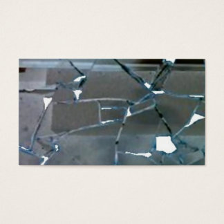 Broken Mirror Business Card