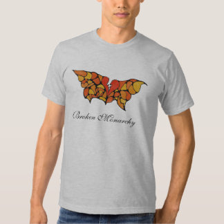 Broken Monarchy Fitted T-shirt