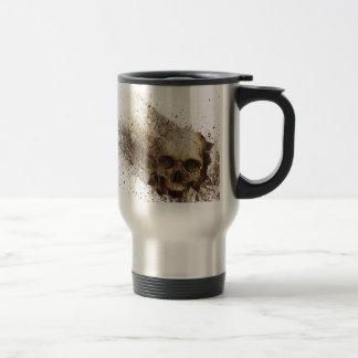 Broken 15 Oz Stainless Steel Travel Mug
