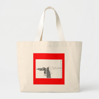 Broken Nose Large Tote Bag