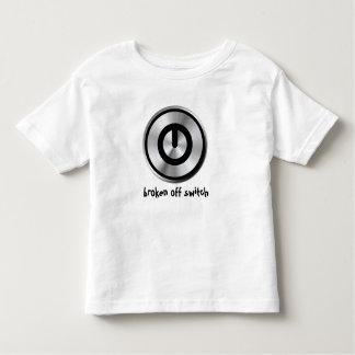 Broken Off Switch Toddler T-shirt