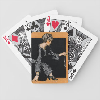 Broken Pearl Necklace Bicycle Playing Cards
