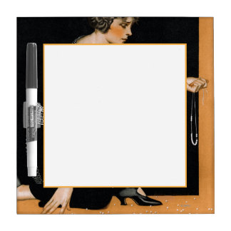 Broken Pearl Necklace Dry-Erase Board