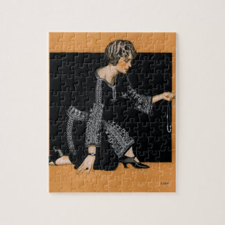 Broken Pearl Necklace Jigsaw Puzzle