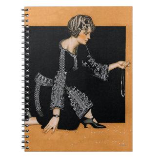 Broken Pearl Necklace Notebooks