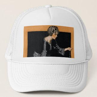 Broken Pearl Necklace Trucker Hat