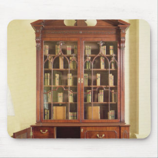 Broken pedimented bureau bookcase mouse pad