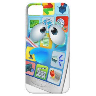 Broken phone virus cartoon case for the iPhone 5