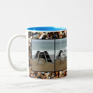 Broken Pier Two-Tone Coffee Mug