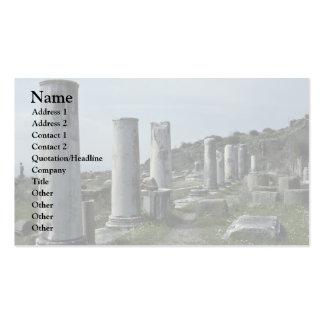 Broken Pillars Business Card