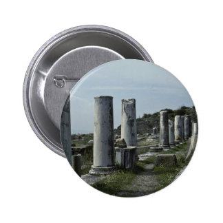 Broken Pillars Pinback Buttons