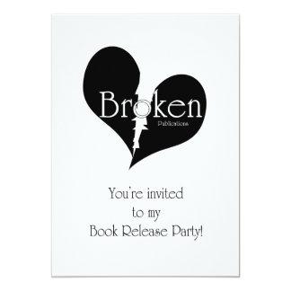 Broken Publications Book Release Invitation