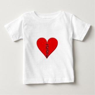 Broken, repaired heart baby T-Shirt