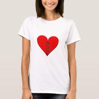 Broken, repaired heart T-Shirt