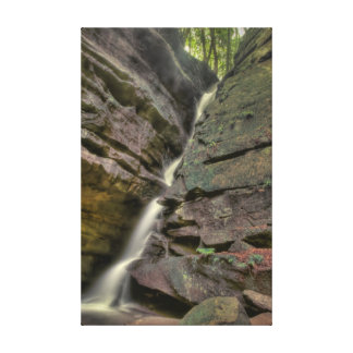 Broken Rock Falls, Old Man's Cave, Hocking Hills Canvas Print