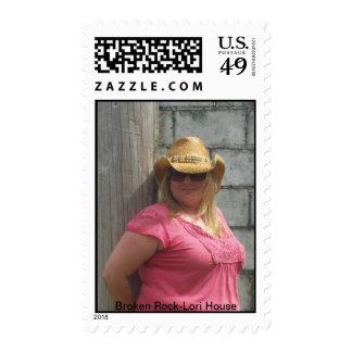 Broken Rock-Lori House Postage Stamps