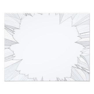 Broken Shattered Glass Photo Print