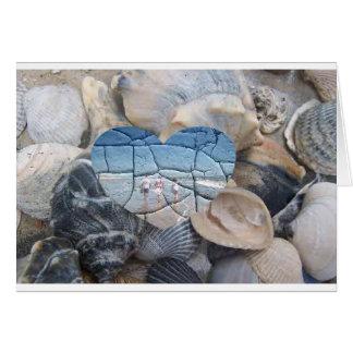 Broken Shells Card