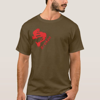Broken Singlespeed Brown T T-Shirt