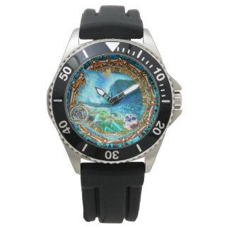 Broken Skullz timepiece Wristwatch
