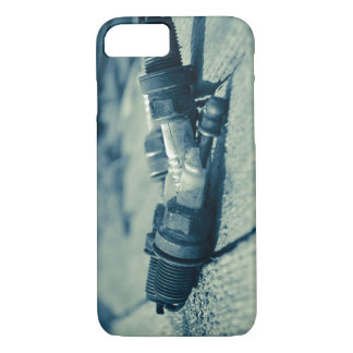 Broken Spark Plugs iPhone 7 Case