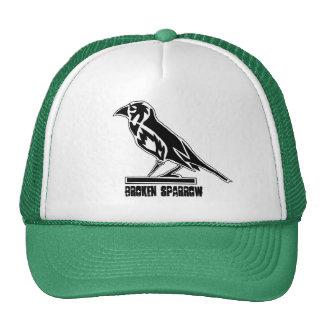 BROKEN SPARROW TRUCKER TRUCKER HAT