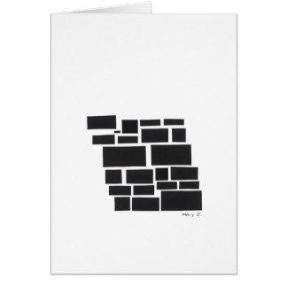 Broken Square Card