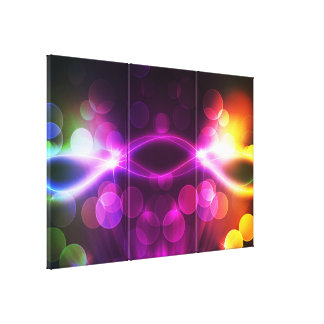 Broken Starlights 1A Wrapped Canvas