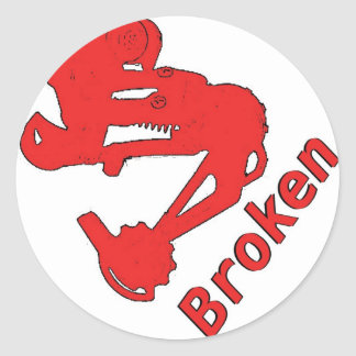 Broken Sticker