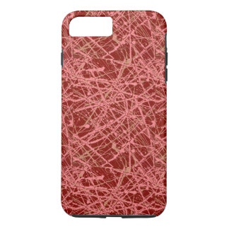 BROKEN STRINGS (an abstract art design) ~ iPhone 8 Plus/7 Plus Case
