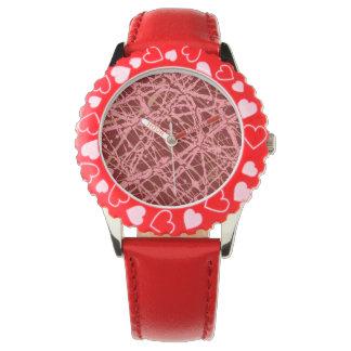 BROKEN STRINGS (an abstract art design) ~ Wristwatches