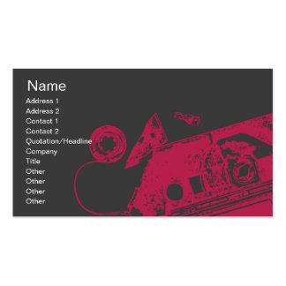 Broken Tape - Business Business Card Templates