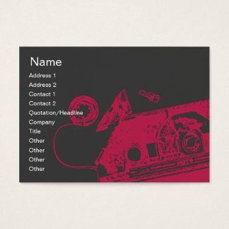 Broken Tape - Chubby Business Card