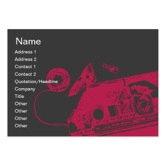 Broken Tape - Chubby Large Business Card