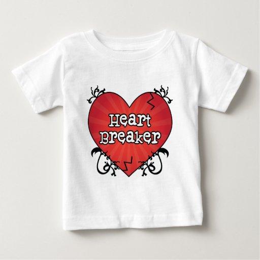 Broken Tattoo Heart Breaker T Shirts
