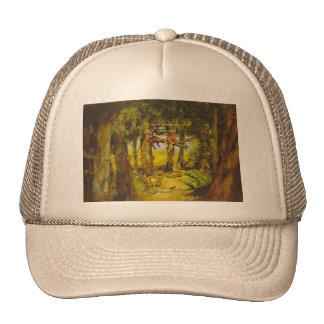 Broken threesome cap